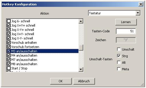 hotkey-konfiguration