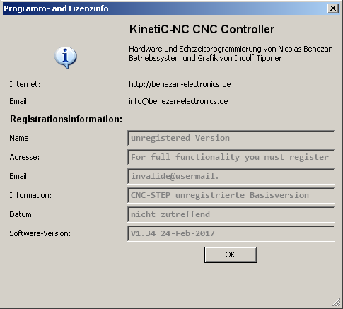 Info über KinetiC-NC