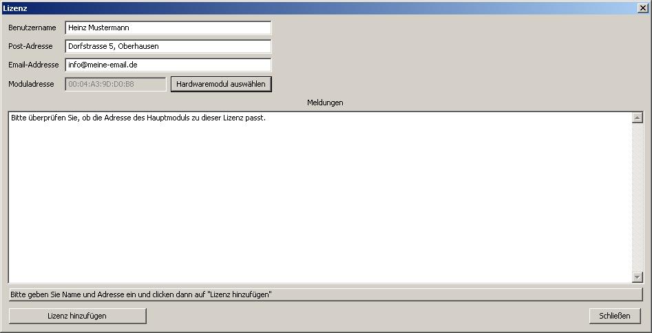 software-lizenz